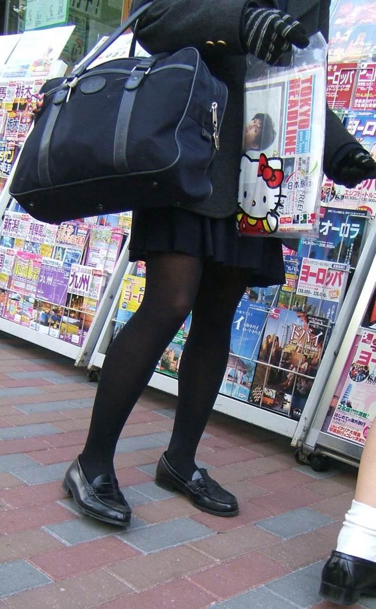 JK_黒パンスト_街撮り13