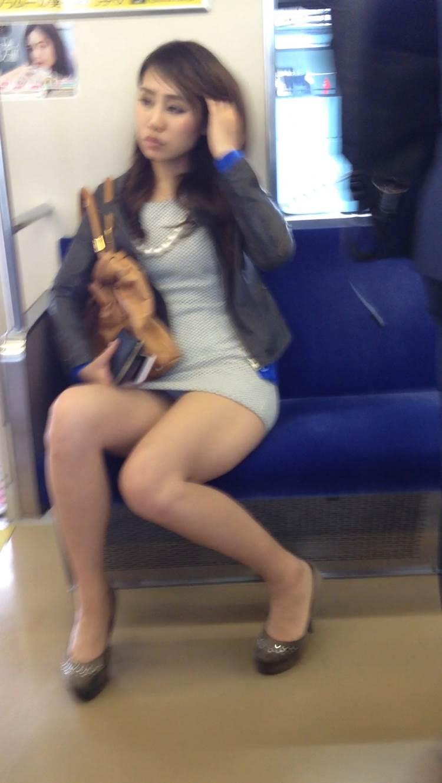 電車_ミニスカ_素人20