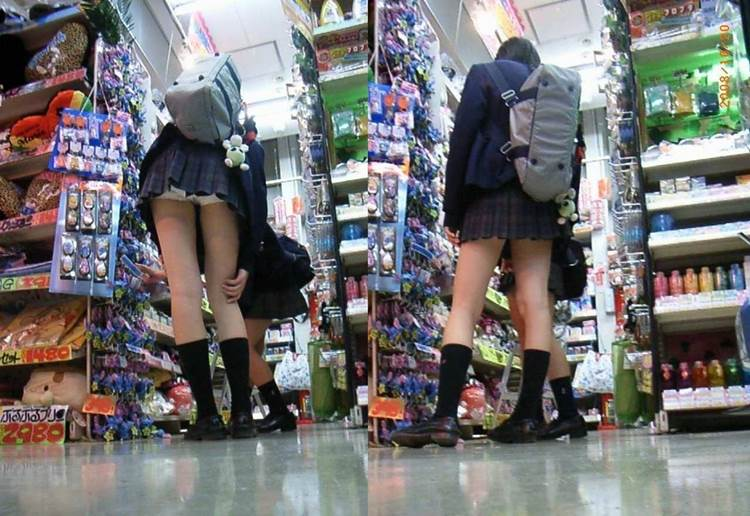 JK_前屈み_パンチラ11
