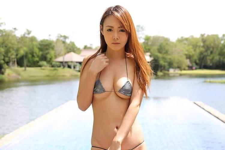 相原麻美_与沢翼の嫁_水着画像06