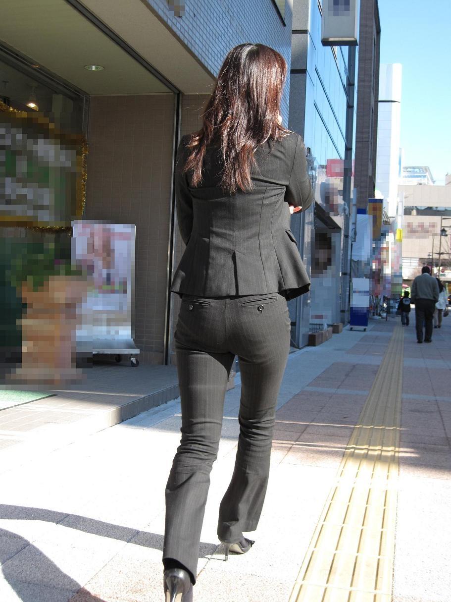 街撮り_パンティライン_素人15
