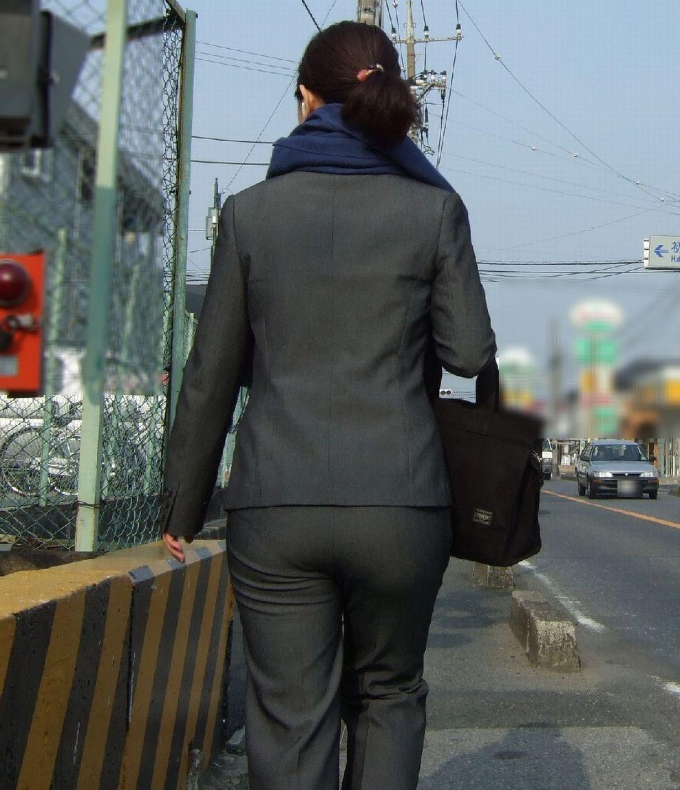 街撮り_パンティライン_素人17