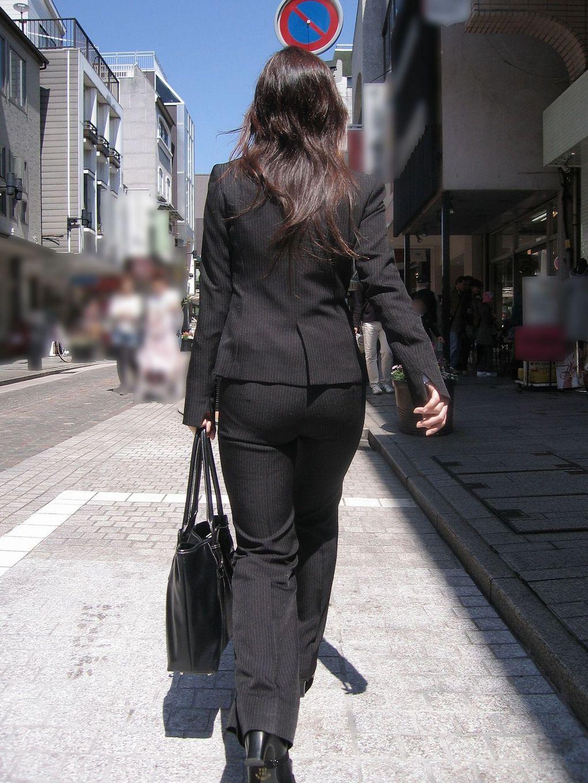 街撮り_パンティライン_素人19