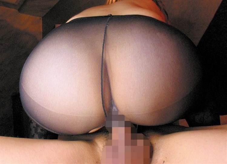 黒パンスト_破いてセックス画像19