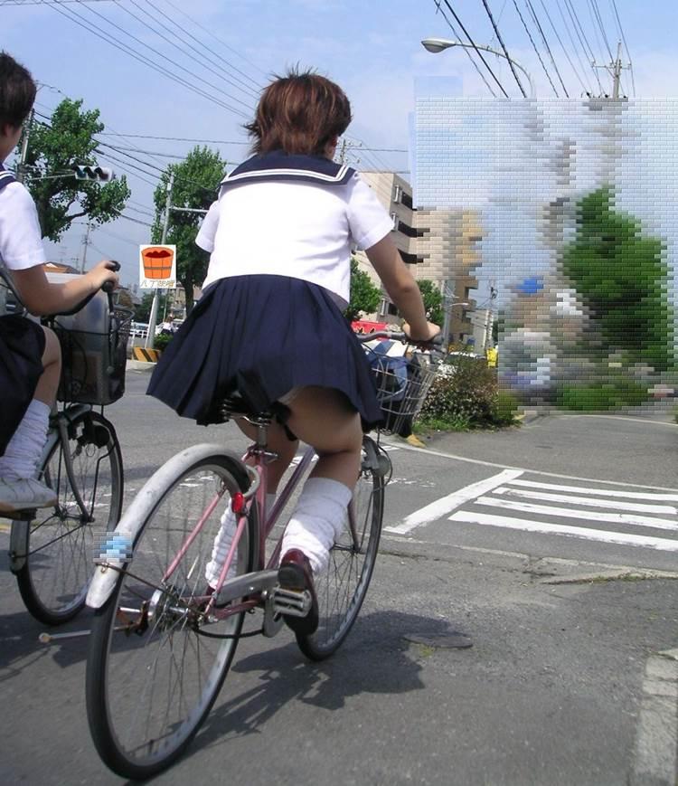 JK_チャリチラ_自転車パンチラ08
