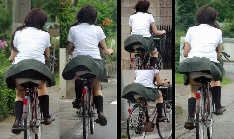 JK_チャリチラ_自転車パンチラ13