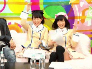 【GIFエロアニメ画像】アイドルグループや女子アナウンサーが見せた一瞬の隙…テレビに写ったパンチラの動く画像ww