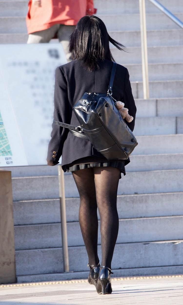 JK_黒パンスト_透け_街撮り盗撮07