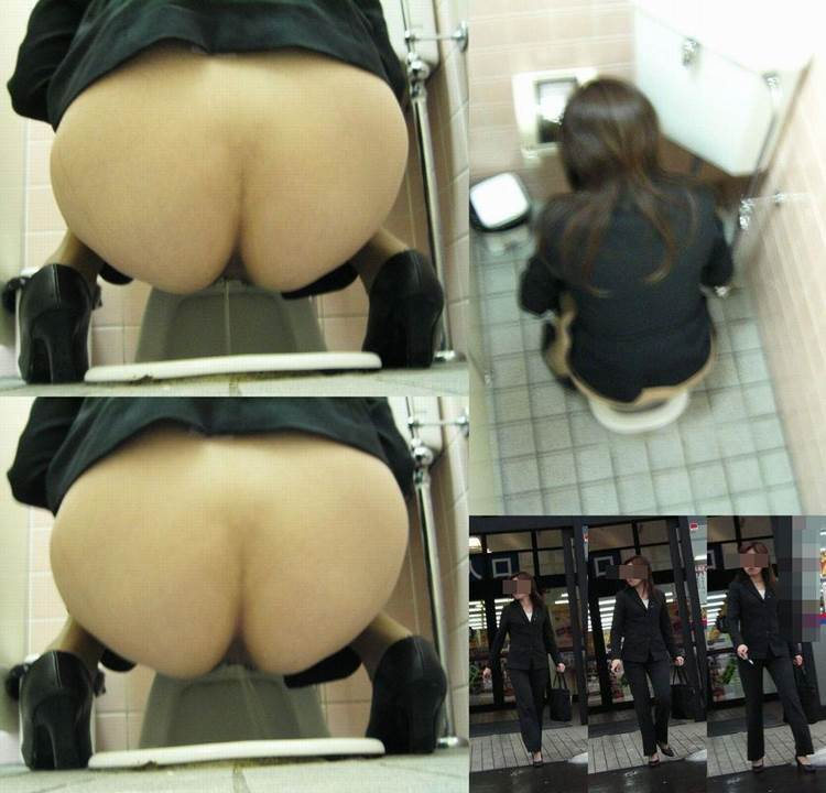 OL_公衆トイレ_おしっこ盗撮画像02