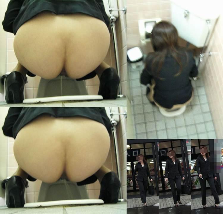 和式トイレ_アナル丸見え_おしっこ盗撮画像20