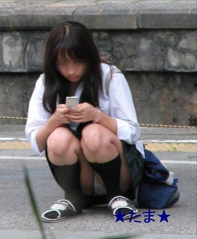 JK_パンチラ_盗撮エロ画像11