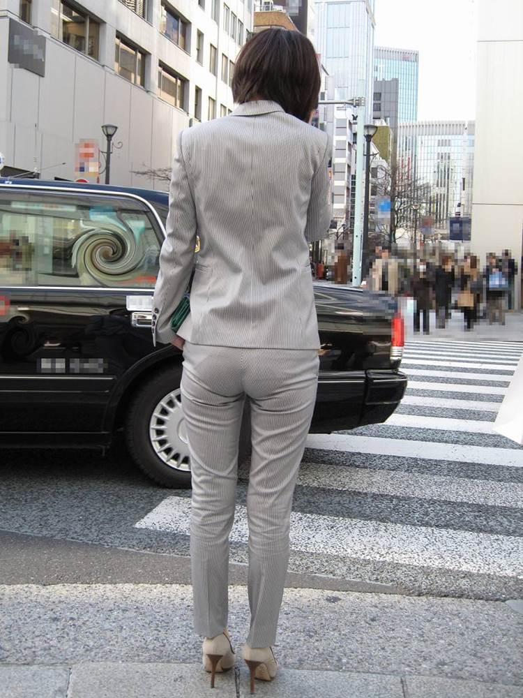 OL_グレーパンツ_小尻_街撮り_エロ画像13