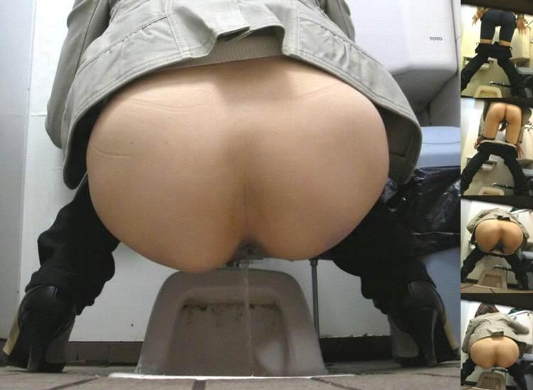 素人_和式トイレ_おしっこ中_盗撮エロ画像14