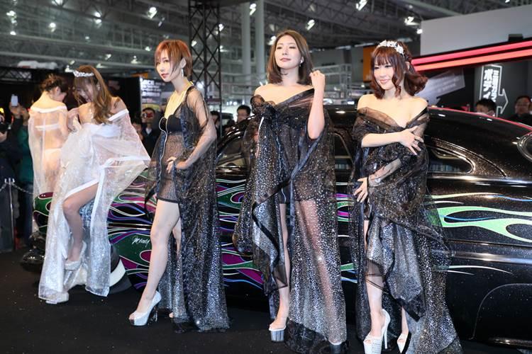 東京オートサロン2018_AIWA_透けTバック_キャンギャル_エロ画像12