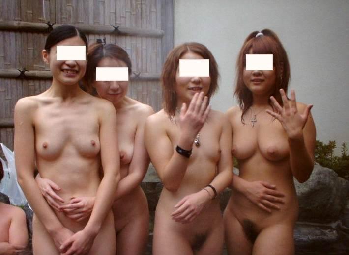 素人_露天風呂_集合写真_エロ画像03