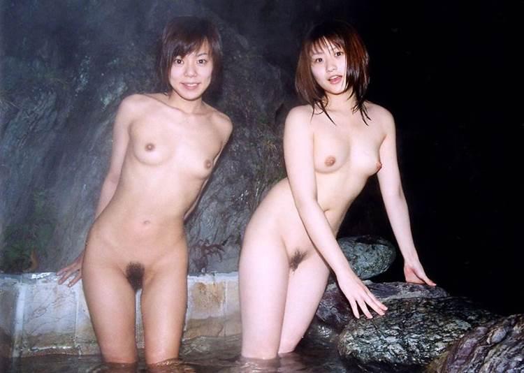 素人_露天風呂_集合写真_エロ画像08