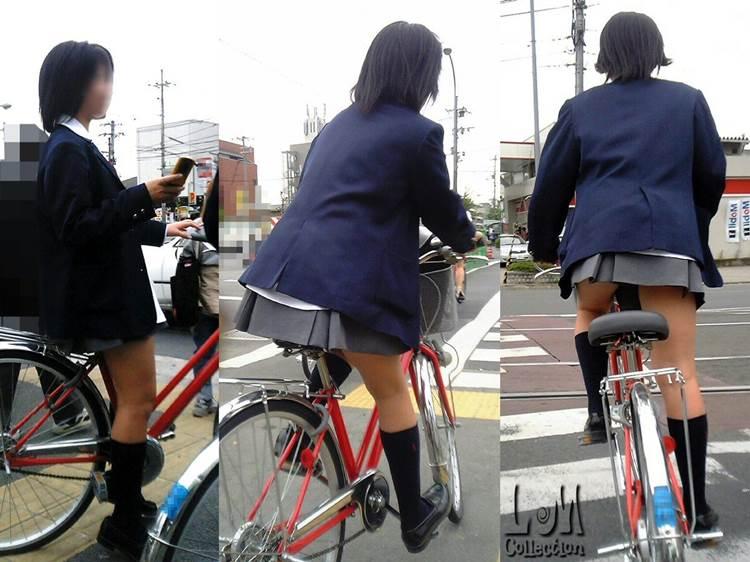 JK_自転車_立ちこぎ_盗撮_エロ画像18