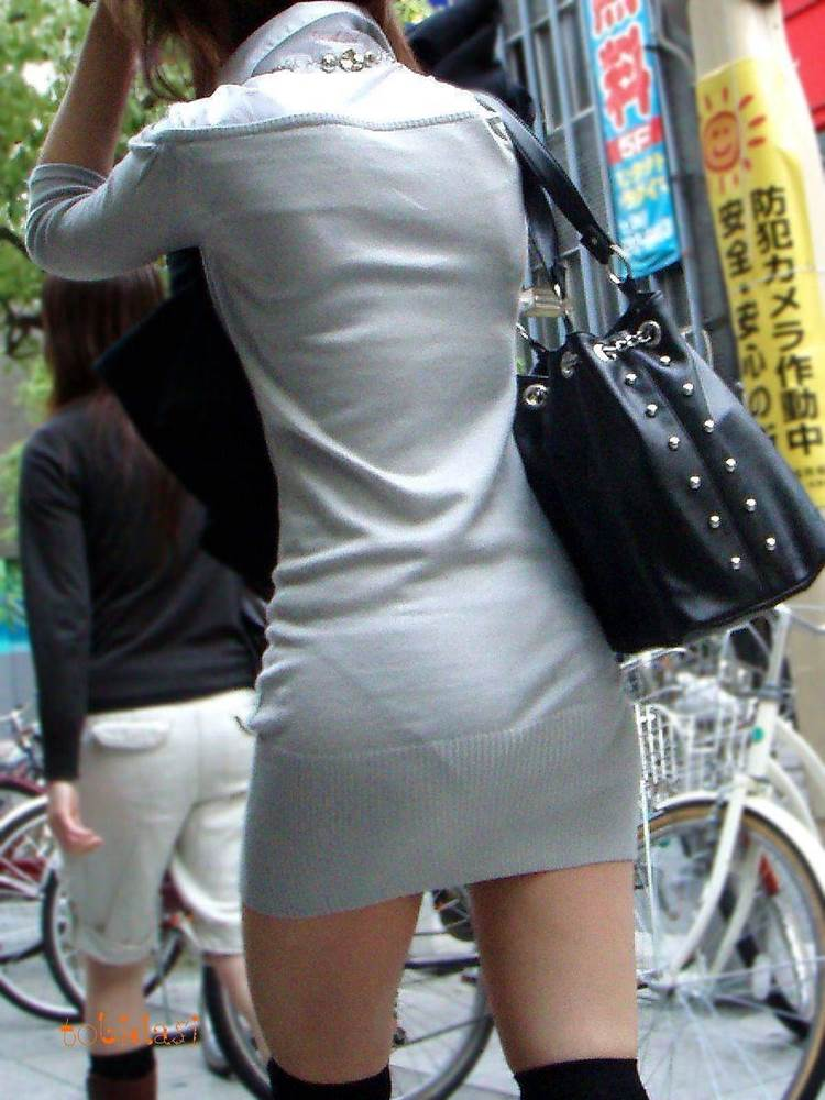 ニットスカート_素人_街撮り_盗撮_エロ画像09