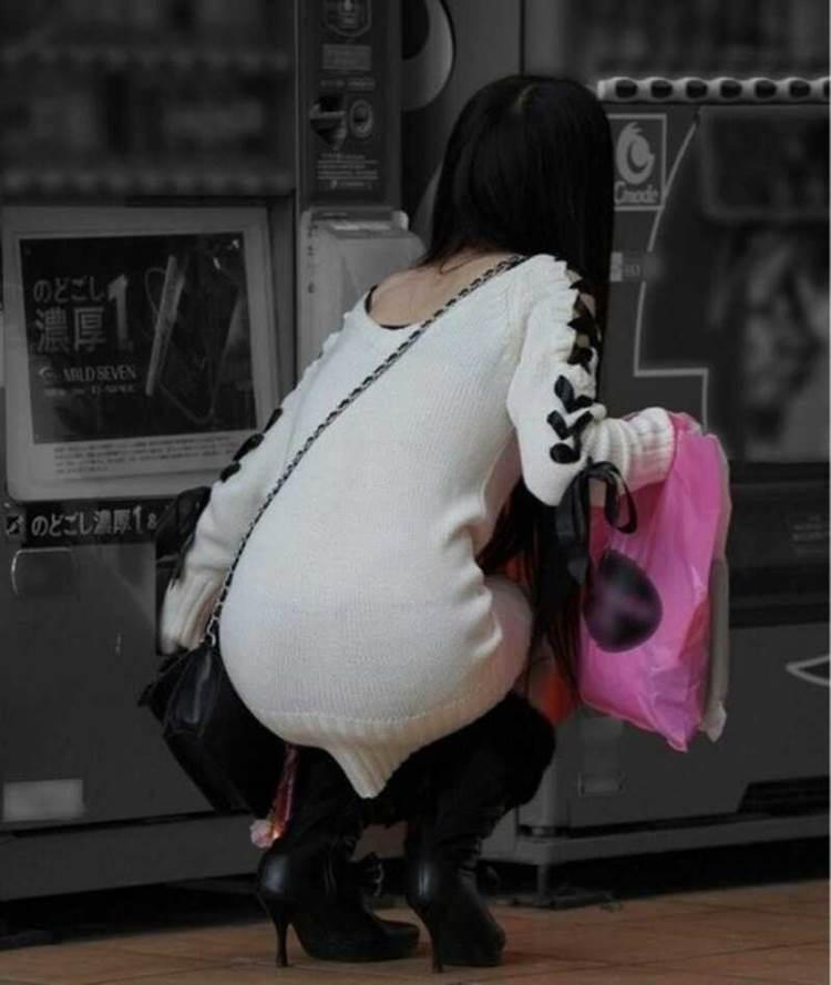 ニットスカート_素人_街撮り_盗撮_エロ画像10