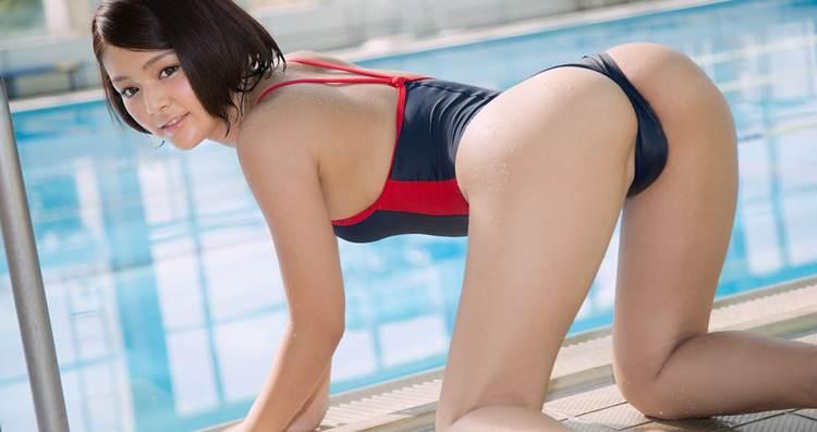 競泳水着_Tバック_エロ画像19
