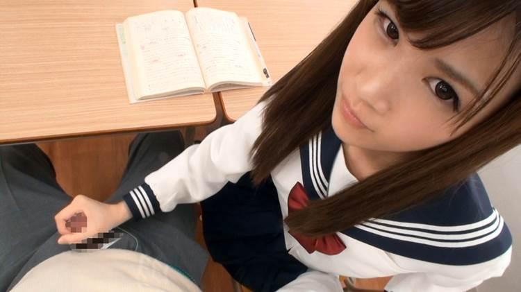 JK_手コキ_制服_エロ画像12