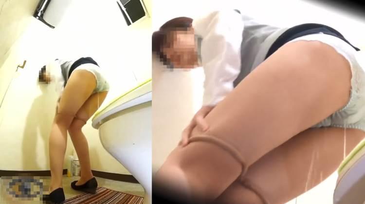 OL_トイレお漏らし_下着濡れ_盗撮_エロ画像10