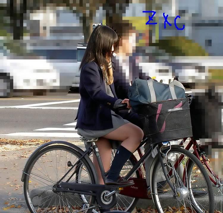 JK_自転車_街撮り_盗撮_エロ画像06