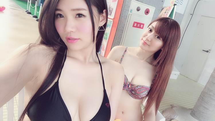素人_水着_谷間_SNS_エロ画像08