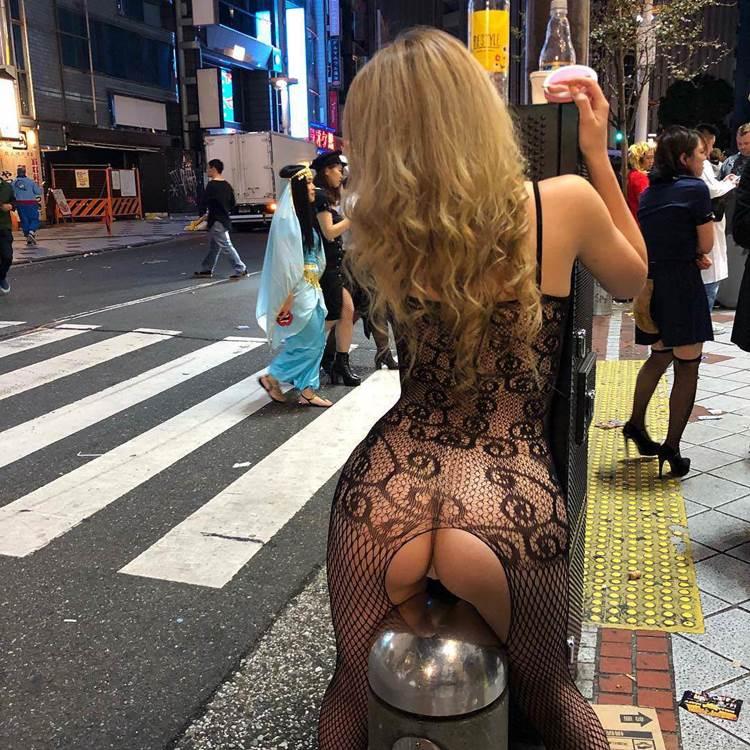 渋谷ハロウィン_盗撮_コスプレ_エロ画像07