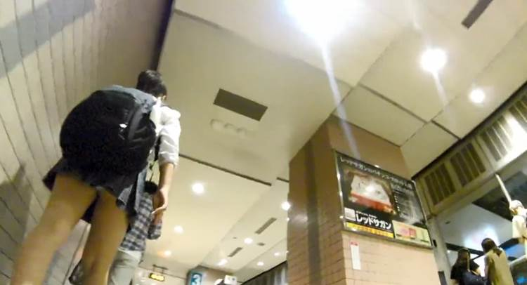 JK_横浜市_逆さ撮り_盗撮_エロ画像26