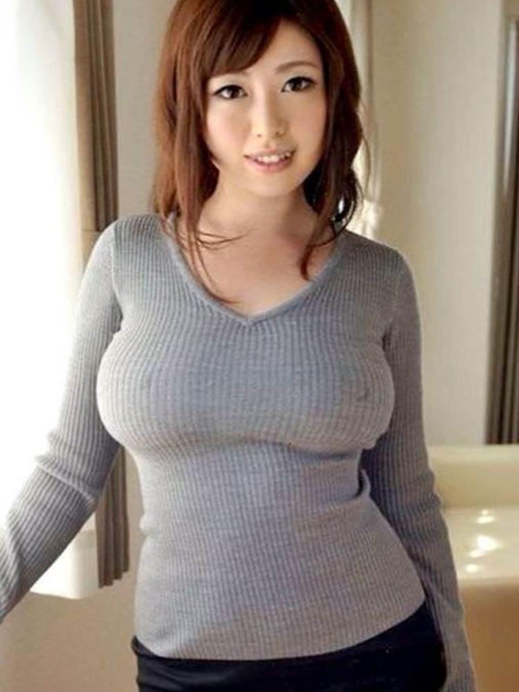 ニットセーター_着衣巨乳_エロ画像10