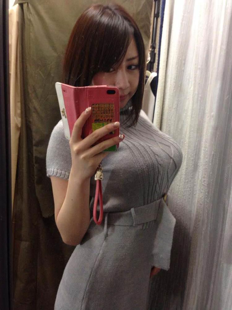 ニットセーター_着衣巨乳_エロ画像11