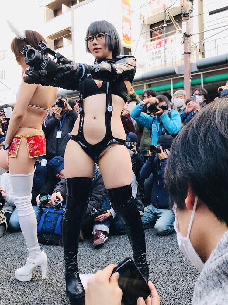ストフェス2019_大阪日本橋_コスプレ_エロ画像28