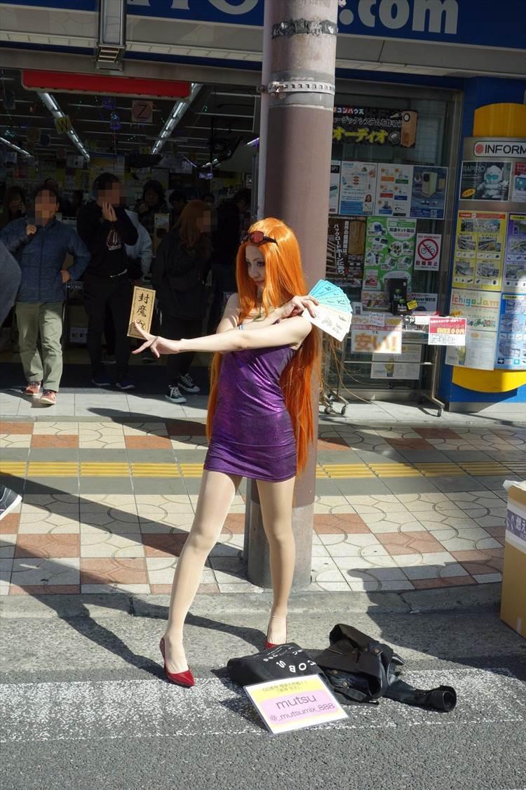 ストフェス2019_大阪日本橋_コスプレ_エロ画像76
