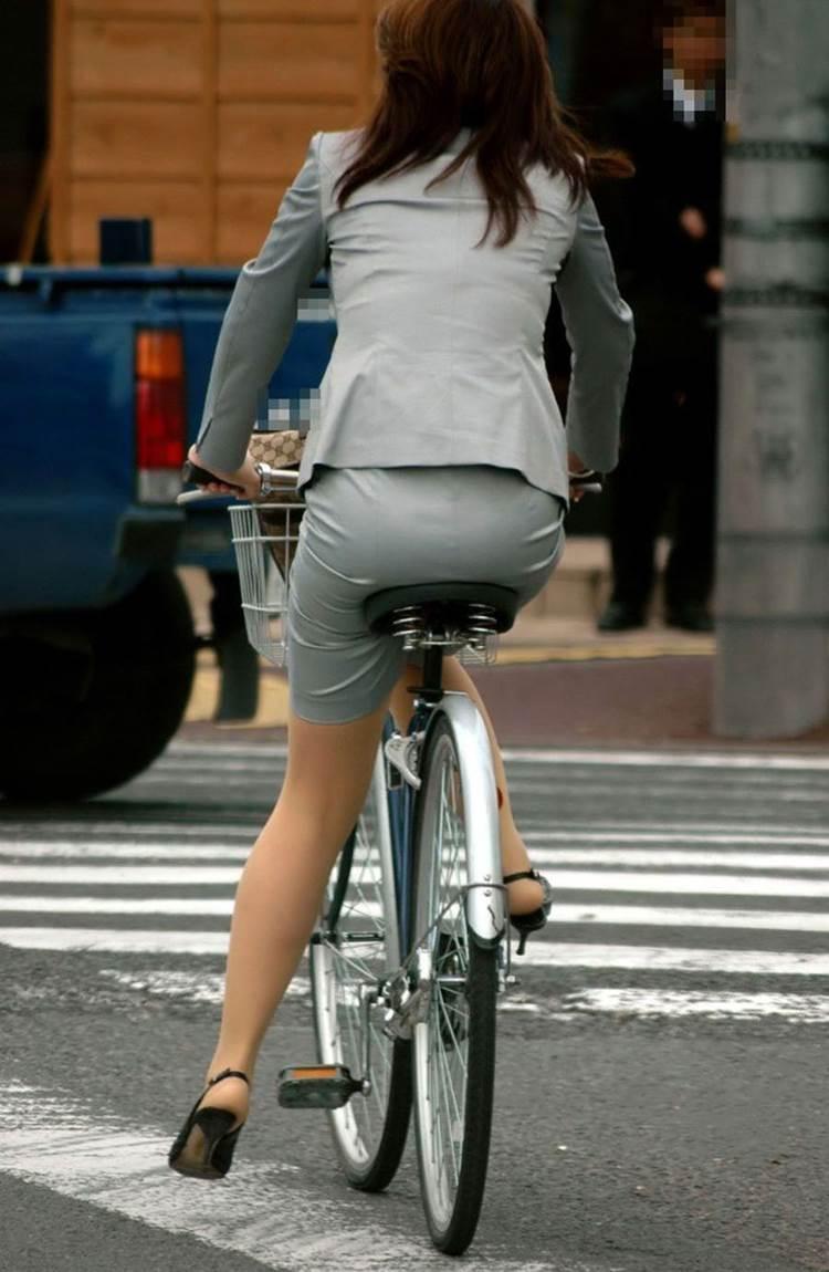 自転車_尻_盗撮_街撮り_エロ画像10