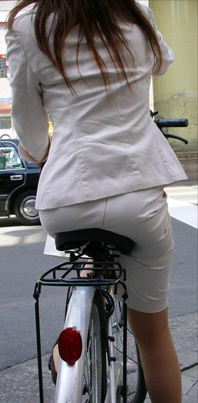自転車_尻_盗撮_街撮り_エロ画像12